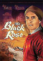 The Black Rose DVD 1950 Tyrone Power, Orson Welles Medieval RARE Action Movie