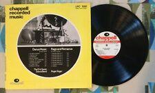 Chappell Library Music LP Eric Swan Roger Roger VG++/M-