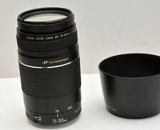Canon Zoom EF 75-300mm/f4.5-5.6 III USM Ultrasonic lens