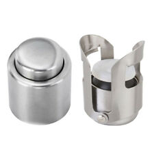 2x Push Down Caps Saver Stopper Plug for Wine, Champagne, Beer, Soda Bottle