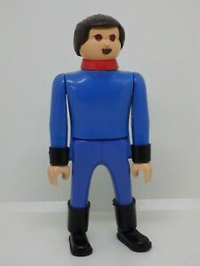 Personaggio Vintage 70s Toys Playbig Play Big Vestiario Blu 10 CM