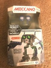 New Meccano Micronoid Titan Target Exclusive Programmable Intrracts Robot