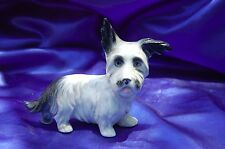 Antique Porcelain Germany Skye Terrier Scottish terrier dog Erphila *