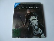 ROBIN HOOD Blu-Ray SteelBook 2Disc FIRST EDITION NEW & SEALED Russell Crowe