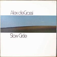ALEX deGRASSI: Slow Circle-M1979LP SOLO GUITAR
