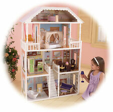 Savannah Dollhouse by Kidkraft- ideal for Barbies, Bratz Dolls - wood