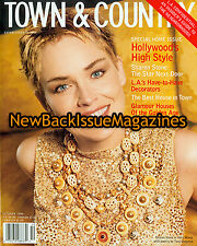 Town & Country 10/99,Sharon Stone,October 1999,NEW