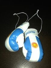 ARGENTINIAN, ARGENTINA, ARGENTINE FLAG Mini Boxing Gloves