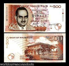 MAURITIUS 500 RUPEES P46 1998 BISSOONDOYAL *ERROR* UNC AFRICA CURRENCY BILL NOTE