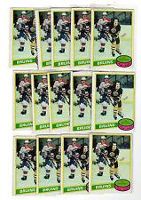 AL SECORD 1980-81 OPC #129 RC Rookie Lot EX O Pee Chee Blackhawks Maple Leafs