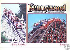 KENNYWOOD-JACK RABBIT& RACER COASTER-PITTSBURGH,PA 2007