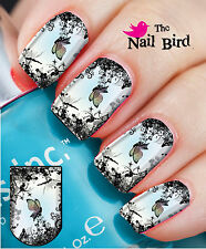 Nail Wraps Nail Art Nail Decals Nail Transfers  20 Fab Fairies and Flowers