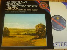 D37814 Chausson Concert / Perlman / Bolet / Juilliard Quartet