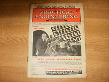 June 8th 1951, PRACTICAL ENGINEERING, Evolution of the Steam Boiler, Data Sheet.