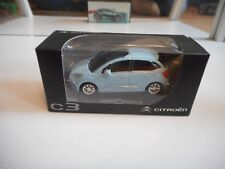 Norev Citroen C3 in Light Blue on 1:64 in Box