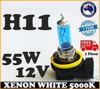 1x H11 12V 55W Xenon White 5000k Halogen Blue Car Headlight Lamp Globes Bulb HID