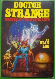 Doctor Strange Master of the Mystic Arts by Stan Lee, Fireside Books Marvel 1979