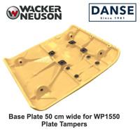 Wacker OEM WP1550 Baseplate, 5000115587, 50CM wide for walk-behind compactors