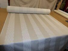 PALE GREY - Jacquard Weave Upholstery Fabric (M&S - Jola Stripe Smoke)