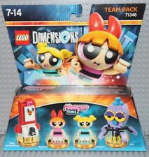 Lego Dimensions 71346 The Powerpuff Girls, Team Pack, Blossom & Bubbles, NEW!