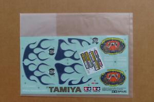 RC Tamiya Decal 58365 Midnight Pumpkin Chrome Metallic reissue NEU NIB 2006