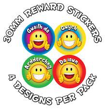 144 X cymraeg-buon comportamento Award ADESIVI-scuole, insegnanti-Welsh LODI