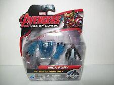 Avengers Age Of Ultron Nick Fury Vs. Sub-Ultron 007 Marvel Hasbro New