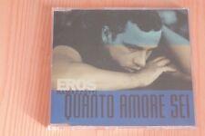 Eros Ramazzotti – Quanto Amore Sei - Boitier neuf - CD  single promo