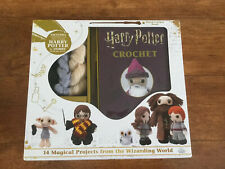 Harry Potter Crochet Kit 14 Projects Book Yarn Hook Etc New