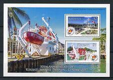 Kiribati 2017 MNH Marine Training Centre 50th Anniv 2v M/S Boats Ships Stamps