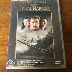Pearl Harbor DVD R4 Very Good FREE POST