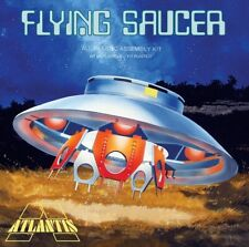 Invaders Flying Saucer Model Kit With Clear Top Atlantis  Ex Aurora