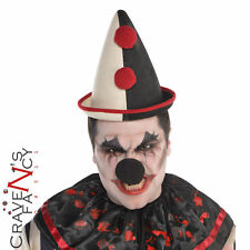 Adult Circus French Clown Hat Halloween Fancy Dress  Cotume Accessory New