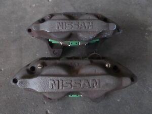 NISSAN SILVIA S14 S15 200SX SR20DET 4piston front brake caliper pair sec/h #7