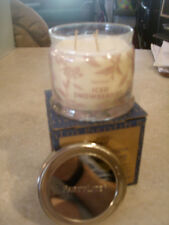 Partylite ICED SNOWBERRIES SIGNATURE 3-wick JAR CANDLE  BRAND NEW