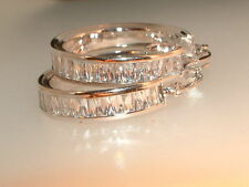 Hoops Earrings Vintage Fine Jewellery
