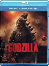 GODZILLA (BLU-RAY) con Aaron Taylor-Johnson, CJ Adams, Ken Watanabe 2014 Edition