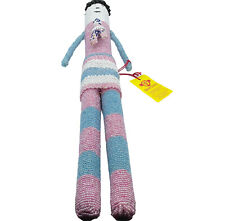 Monkeybiz South Africa Cape Town Seed Bead Hand Made Tall Doll