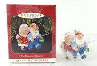 "Hallmark Keepsake Ornament, New ""The Clauses on Vacation"" 1997 Great Xmas Gift"