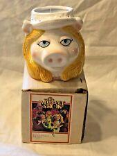 Sigma The Tastesetter MISS PIGGY Muppets Novelty Ceramic Mug 1970s MIB w/ tag