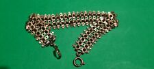 Pocket Watch Chain c.1900s Antique Gemany Roled Gold Albert