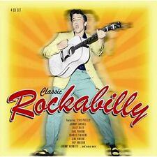 CLASSIC ROCKABILLY - ELVIS PRESLEY, JOHNNY CARROL, EDDIE BOND 4 CD NEU