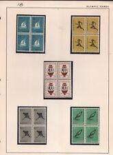 WORLDWIDE  SPORT 1956 / NETHERLANDS /   BLOCKS , LOT  # 1 B