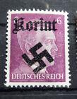 Local Deutsches Reich WWll Propaganda,Private overprint Korint MNH