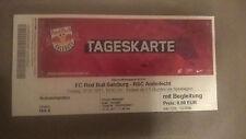 TICKET RARE  : RED BULL SALZBURG - RSC ANDERLECHT 07-07-2017