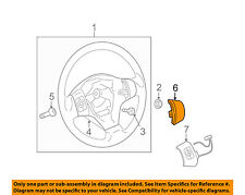 Scion TOYOTA OEM 13-15 xB Steering Wheel-Trim Cover 4511612040
