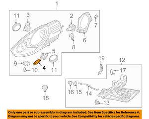 PORSCHE OEM 09-16 Boxster-Exterior Bulb 99963130590