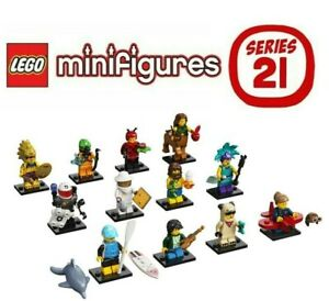LEGO Series 21 Collectible Minifigures - Complete Set of 12 - 71029.