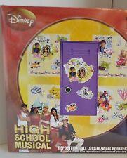 High School MUSICAL Locker Wall Stickers 4 Sheets 2007 Disney HSM NEW Collect