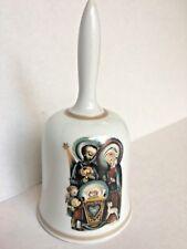 Schmid 1973 Hummel Nativity Porcelain Christmas Bell Pre-owned